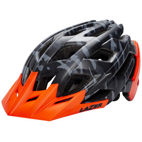 Lazer Ultrax+ ATS Helmet mat black camo/flash orange